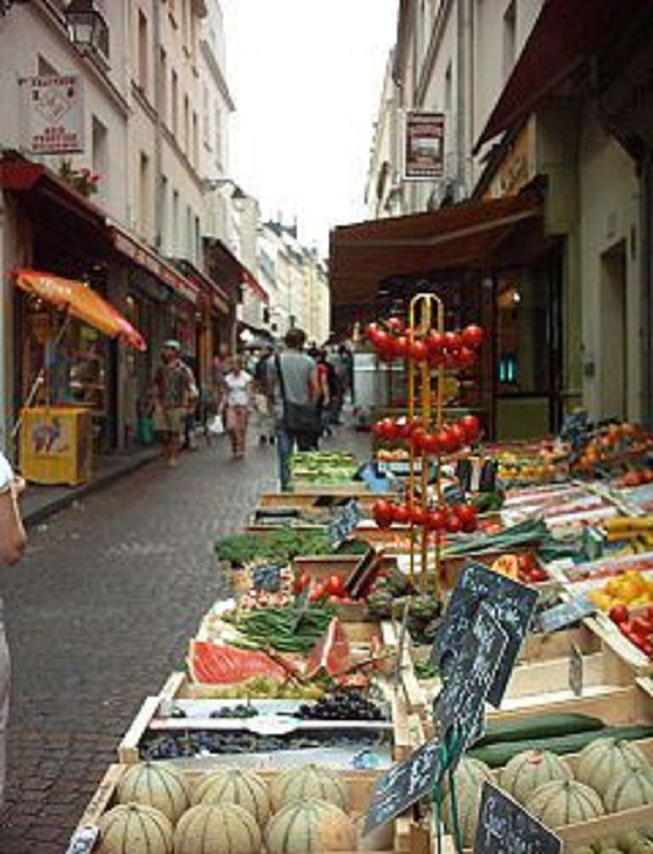 market near bastille paris