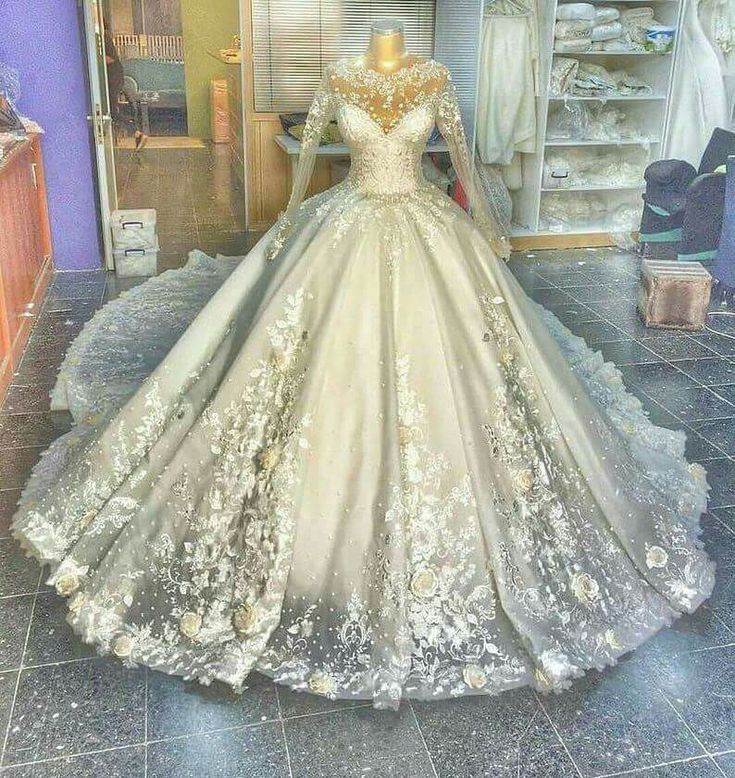 A Beautiful Princess Style Ballgown Wedding Dress Ballgown Beautiful Dress Princess Style Wedding Ball Gowns Wedding Wedding Dresses Ball Gowns