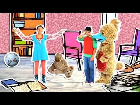 liedje muziek en dans Schooltv De schoonmaak - YouTube