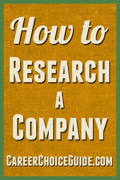 It is so easy to research a company, there is absolutely no good reason to skip this step during the job search process. Learn how to do effective research here with some innovative strategies.