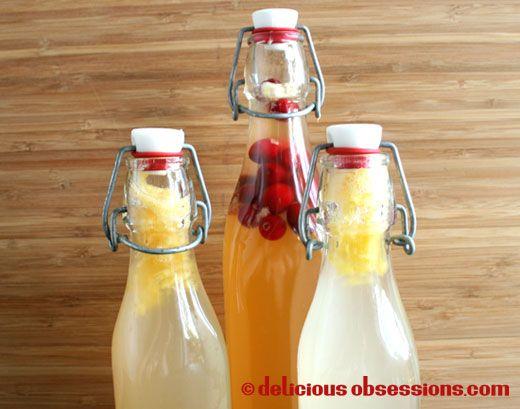 How to Make Water Kefir - Probiotic, fermented beverage