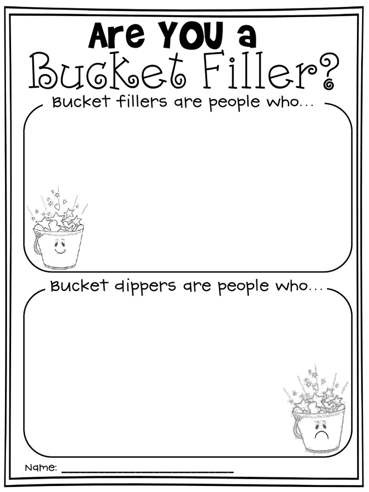 Bucket Filler/Dipper Begining of year activity.  Cool idea: Last year I did buckets, but they kept falling off the wall. Found these cool chinease food containers.....will use next year with push pins