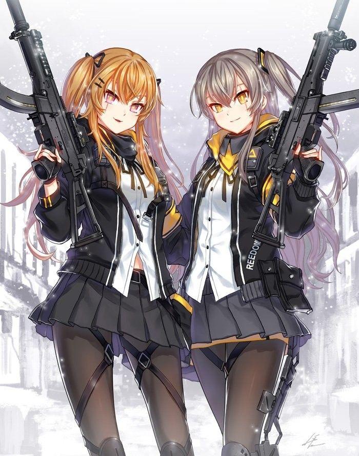 Anime Gun Gal Twins