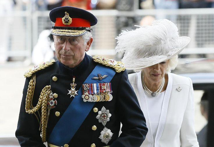 Foro Hispanico de Opiniones sobre la Realeza: Miembros de la Familia Real británica en la conmemoración en Londres