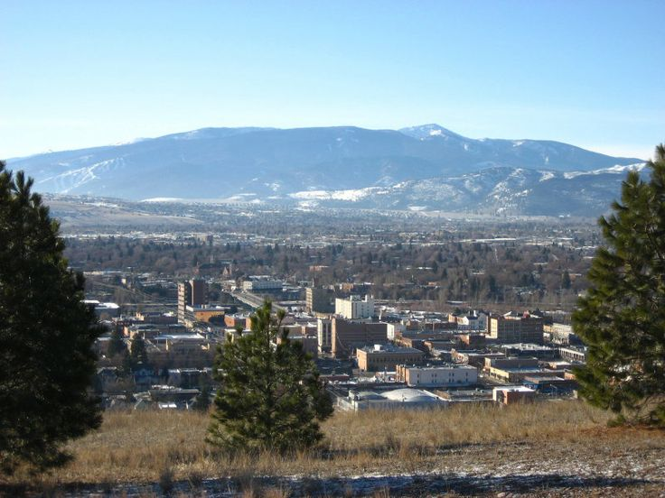 Missoula, Mt. I have a good friend from College that lives there and it