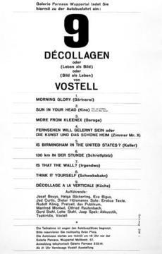 Wolf Vostell  «Sun in Your Head»