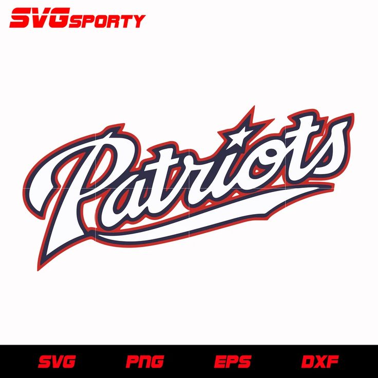 Download New England Patriots Text svg, nfl svg, eps, dxf, png ...