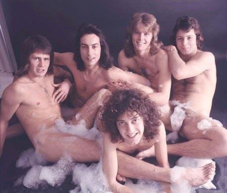 OMG Australian rock band Sherbet and their very risque (for the time) spread in Cleo magazine in the '70S