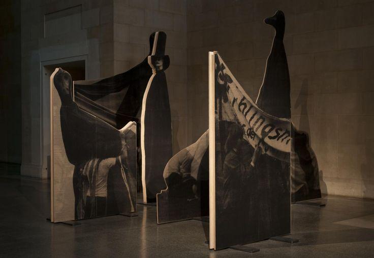 David Noonan, installation view, Altermodern, Tate Triennial 2009, Tate Britain, London, 3 February - 26 April, 200