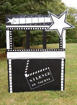 Photobooth Thème Cinéma