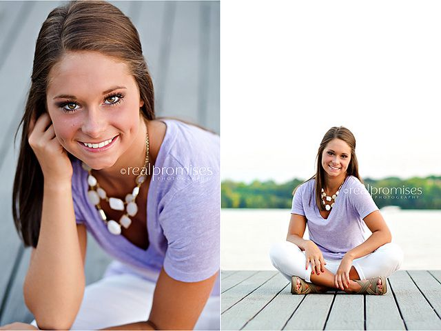 High School Senior pictures on boat dock at sunset | Flickr - Photo Sharing!