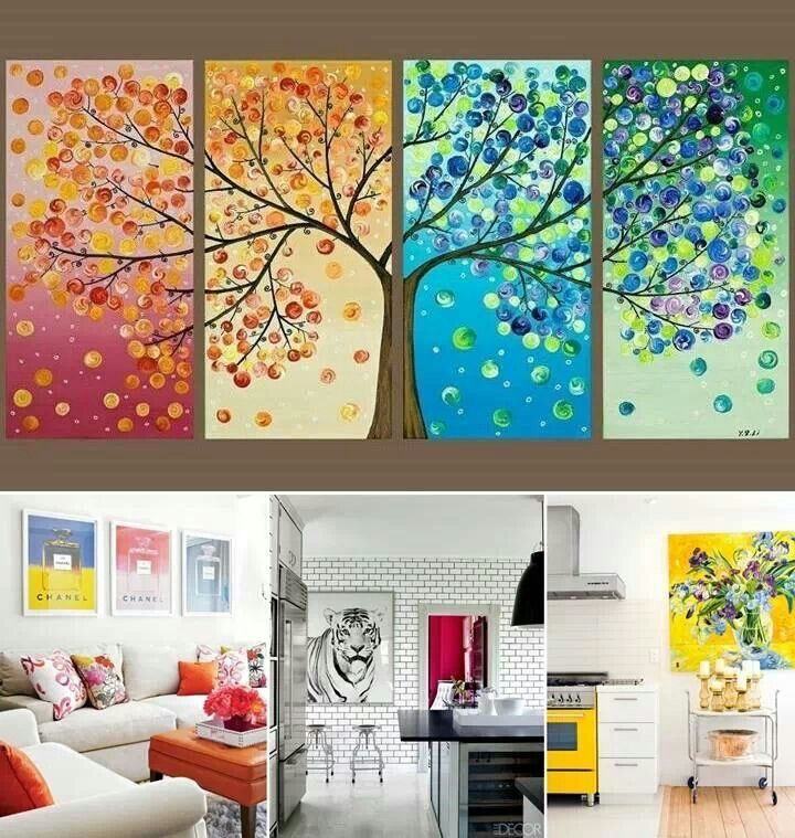 25 best ideas about quadros modernos para sala on - Cuadros de casas ...