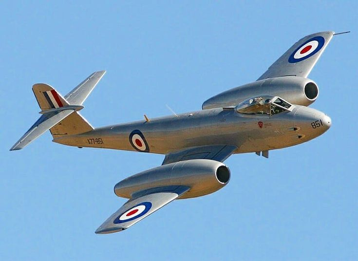 """: """"Gloster Meteor of Royal Air Force .…"""""""