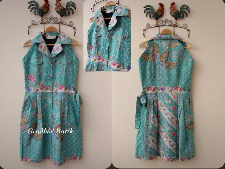 Encim Pekalongan tulis + lining tricot. By Gendhis Batik