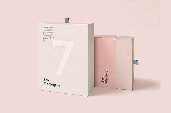 Box Mockup vol.2 by seawasp on @creativemarket