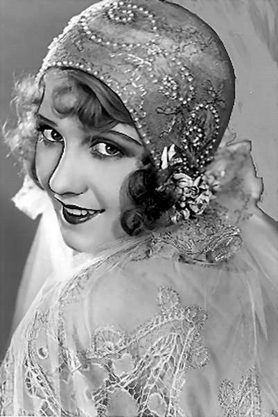 "Anita Page ~ 1920's Flapper Girl ~ She Anita Evelyn Pomares on August 4, 1910.  She died in 2008 at the age of 98.  She was once considered ""the girl with the most beautiful face in Hollywood"" in the late 1920s."