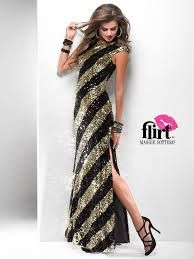 Astra Formal - Flirt 4709 | Size 2 Black and Silver