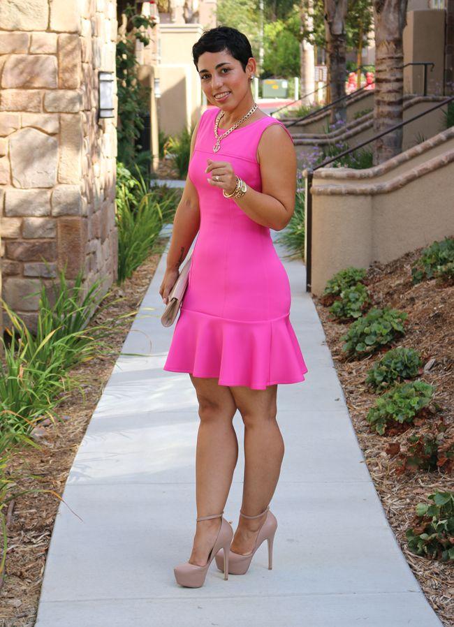 DIY Pink Dress Pattern Review M6988 Mimi G Style