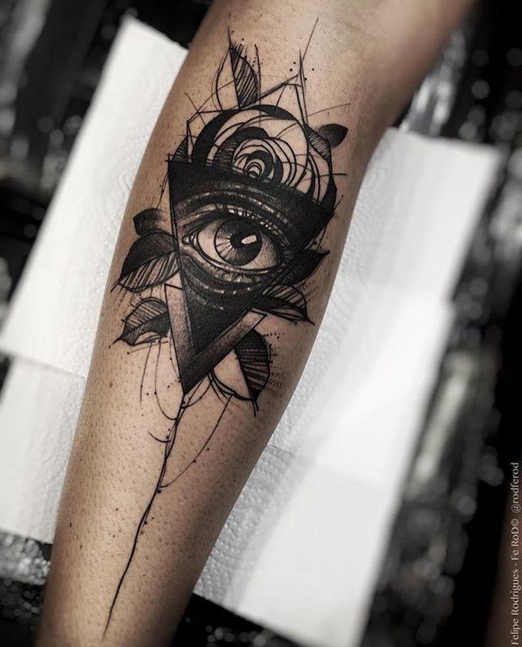 Pour le bras droit idée illuminati #projet #tatouage #illuminati