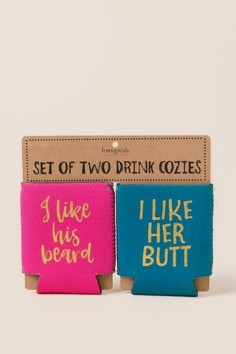 Beard And Butt Coozie Set- gift-cl
