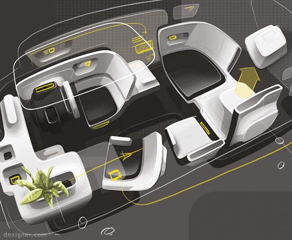 Adam Phillips: Former Lego Designer Wins Pilkington Vehicle Design Awards. Car  Interior ...