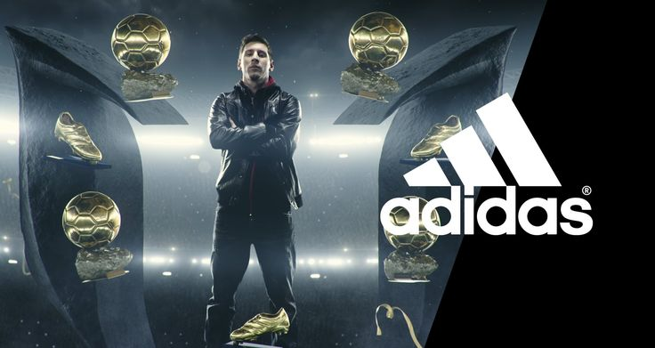 "adidas, ""There will be haters"". It reinforces the big idea by using a famous football player, Leo Messi, who succeeded to become successful in his career in spite of the 'haters'. It is effective because he is such a well-known football player, so it encourages consumers to never give up."