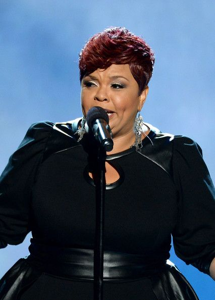 Tamela Mann at the BET Awards In June of 2014