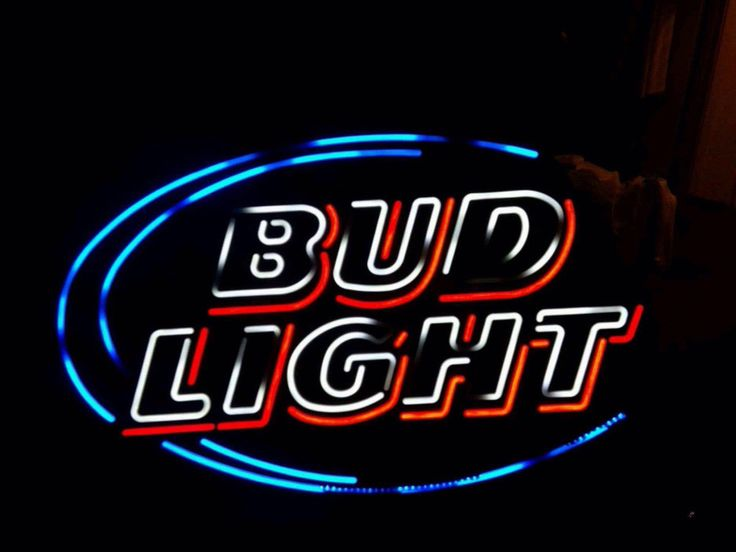 Bud Light Neon Sign Real Neon Light Z1225