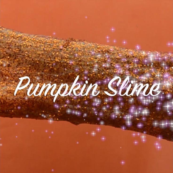14 Halloween Ideas: PSST The Glitter Pumpkin Slime is Our Favorite