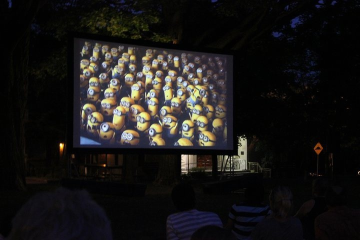 Centre Town Movies, an outdoor film festival held Fridays and Saturdays at  Dundonald Park, 512 Somerset St. W.    The events are pay-what-you-can, and is organized and staffed by people in the community, for the community.