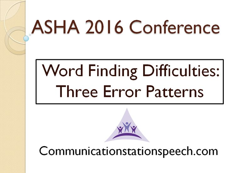 This is the first official post recapping specific sessions I attended during the ASHA 2016 Convention. You can access more posts labe...
