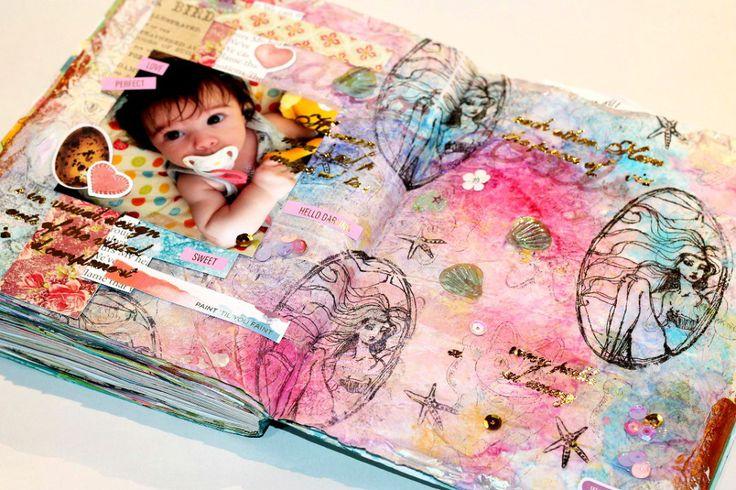 Crea tus propias servilletas decoradas para découpage y otros trabajos de mixedmedia