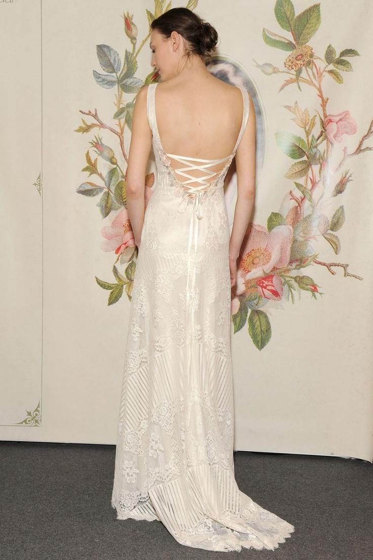 Claire Pettibone 'Antoinette' wedding gown www.clairepettibone.com/bridal | Decoupage Collection | Photo: WWD/Steve Eichner via Brides Magazine UK