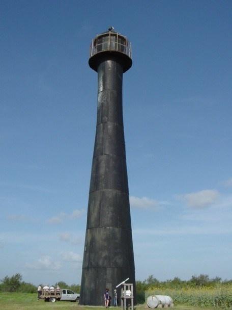 Matagorda Island Lighthouse Matagorda Island Calhoun County Texas US 28.337889, -96.424083