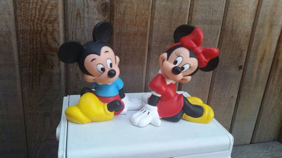 Check out this item in my Etsy shop https://www.etsy.com/ca/listing/461545048/vintage-mickey-mouse-and-minnie-mouse