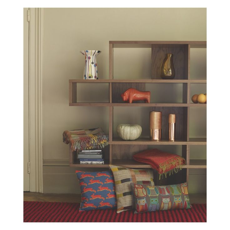 ANTONN Tall walnut shelving unit | Buy now at Habitat UK