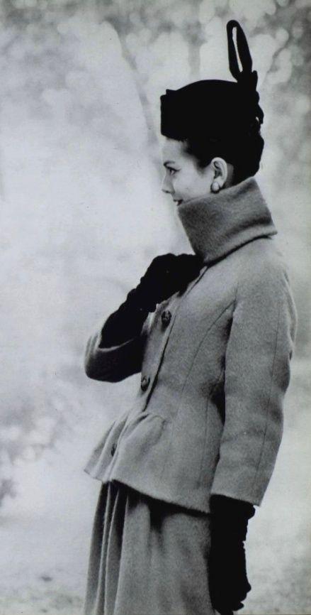 1959 Michel Goma #Fashion #Vintage #Chic