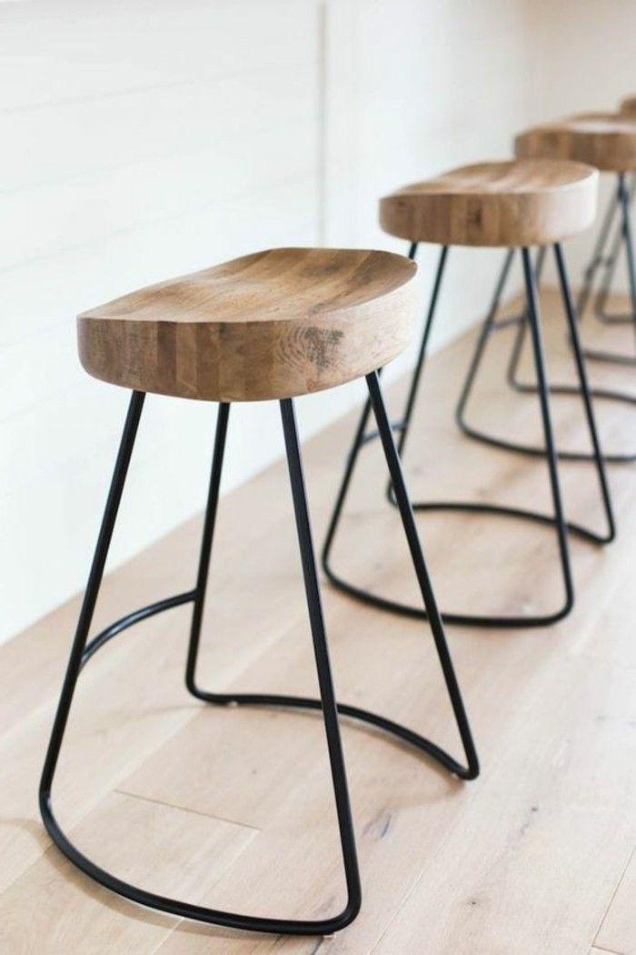 1000 id es sur le th me tabourets de bar modernes sur pinterest chaises de salle manger. Black Bedroom Furniture Sets. Home Design Ideas