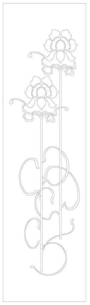 Disegni DXF stile Barocco, arazzi e decori per macchine CNC