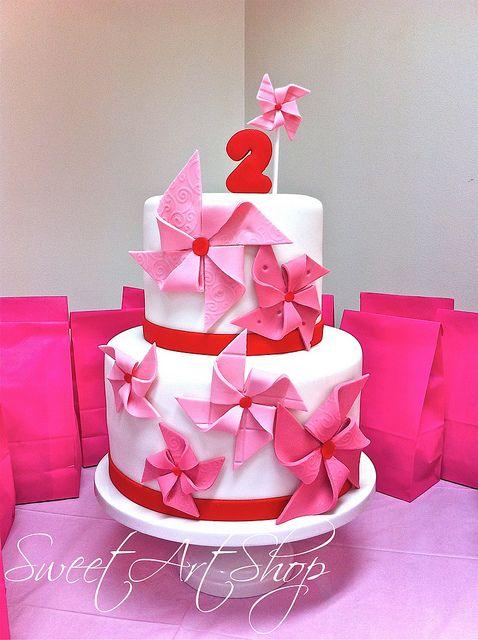 Pinwheels Cake