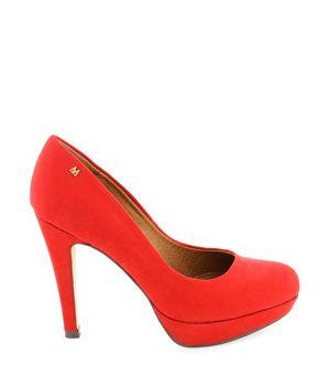 025ff6d7a15ce Červené lodičky na platformě MARIA MARE | Obuv, boty, botičky | Pinterest |  Bag