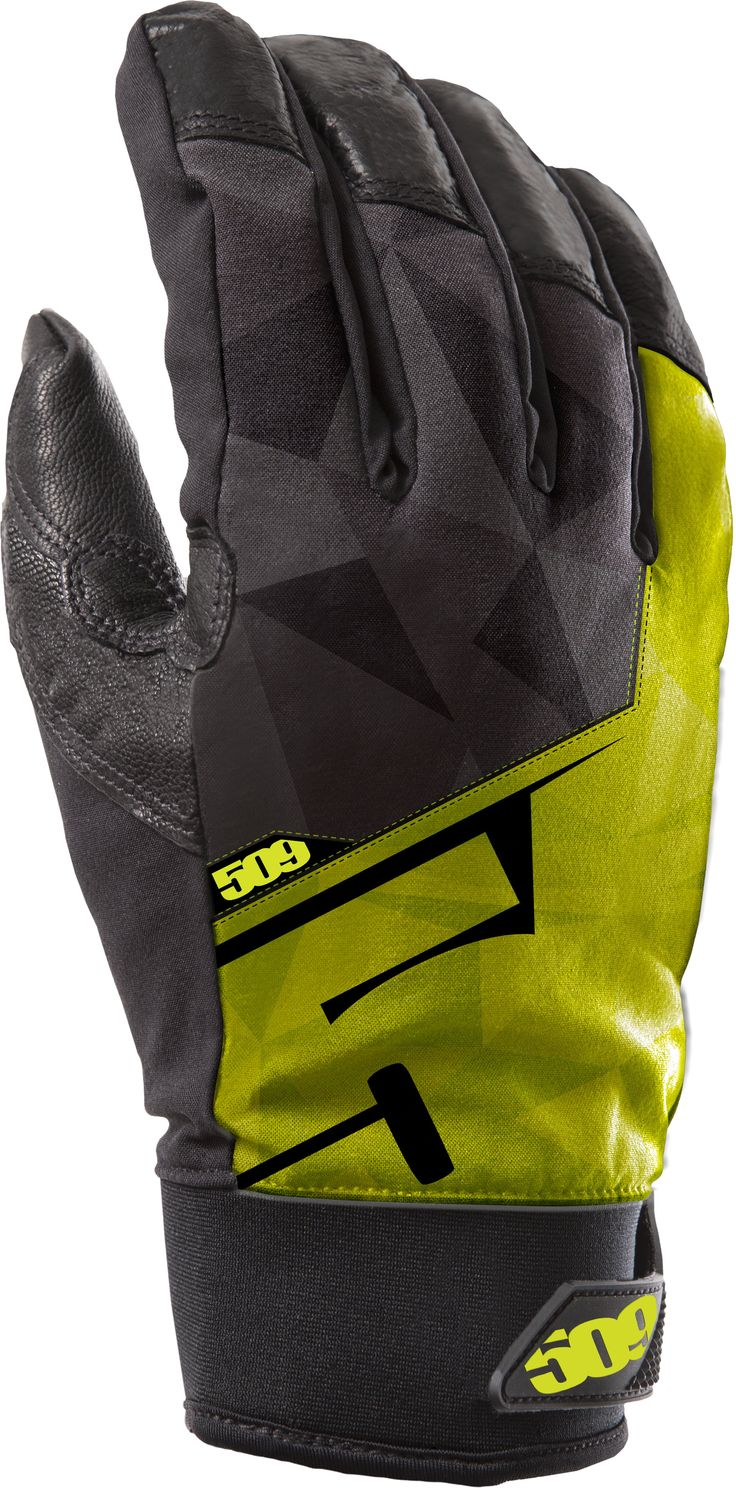 509 Freeride Snowmobile Gloves Lime