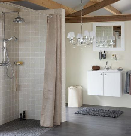 17 best images about badkamer on pinterest toilets creative and ceramic floor tiles - Betegeld zen badkamer ...