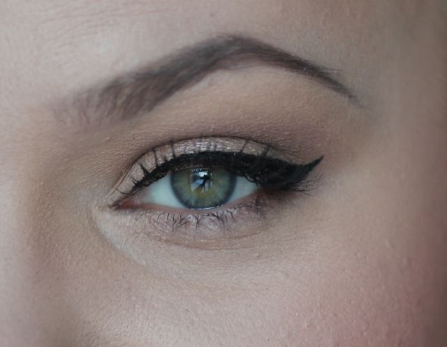 Extremely easy to use - even for beginners, says beauty blogger Fantazya about the new Lumene True Mystic Precise Tip Eyeliner. #eyeliner #lumene