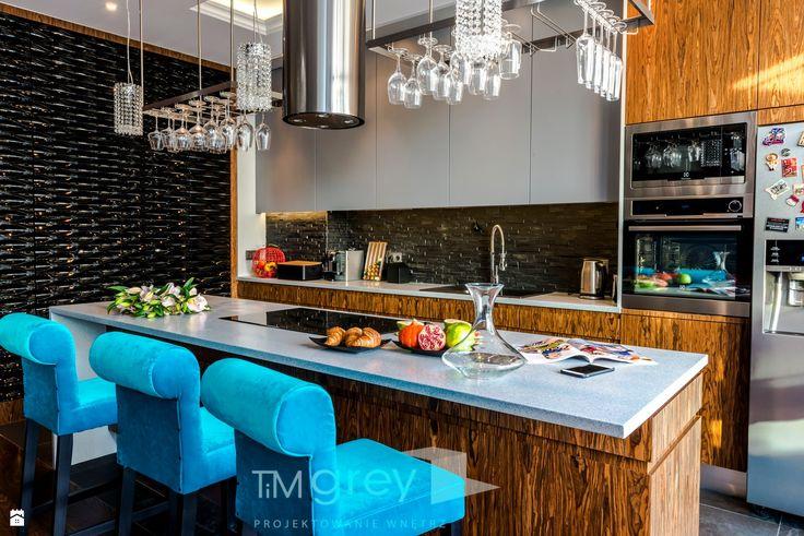 Kuchnia styl Eklektyczny - zdjęcie od TiM Grey Projektowanie Wnętrz - Kuchnia - Styl Eklektyczny - TiM Grey Projektowanie Wnętrz