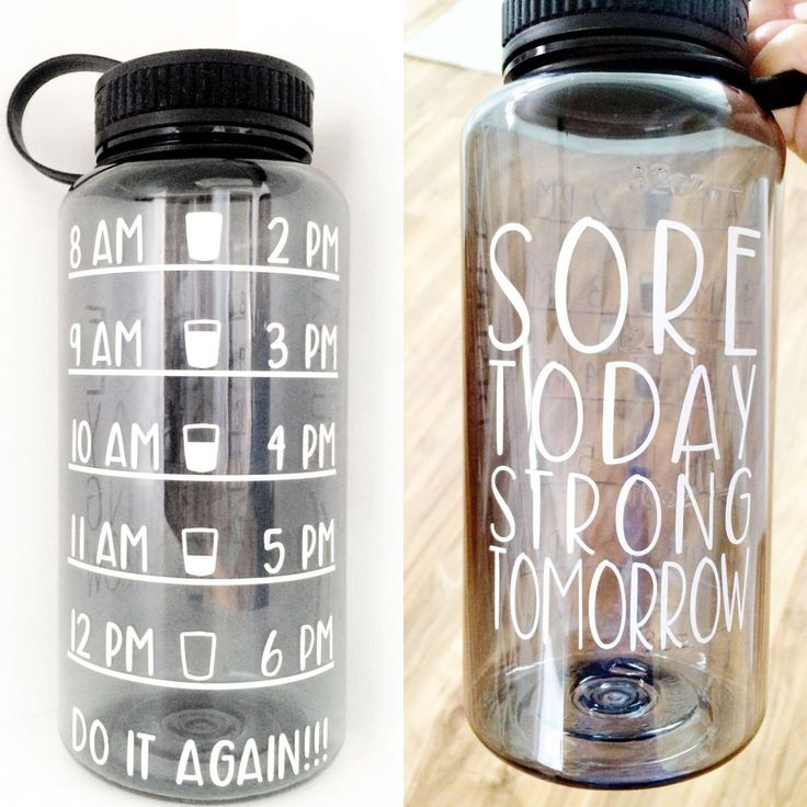 Stay hydrated with this water timer label and keep yourself motivated to drink more as the day progresses! With specific time marks, this design will help you hit your water goals - resulting in faster weight loss, clearer skin, and a healthier lifestyle!