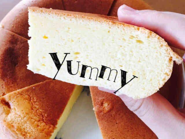 炊飯器で!ふわふわシフォンケーキの画像
