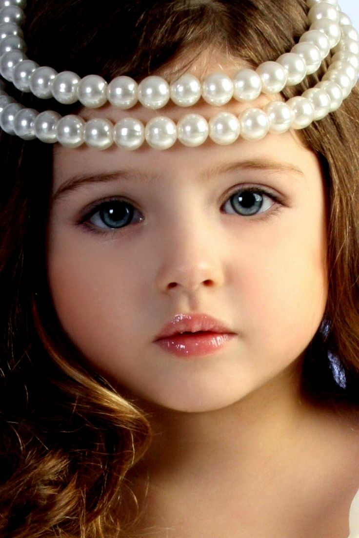 petite fille / perle