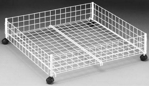 Under Bed Shoe Storage On Wheels Choozone Clutter Free