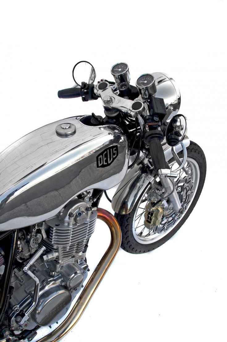 Silver SR TT   Deus Ex Machina   Custom Motorcycles, Surfboards, Clothing and Accessories